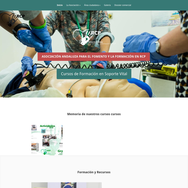 Proyecto Web WordPress - Asociacion RCP